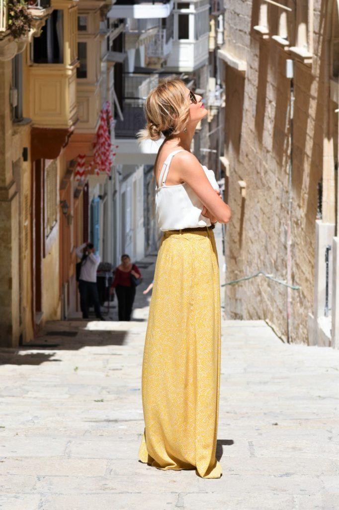 biały top promod blog modowy stylizacje3 malta valetta