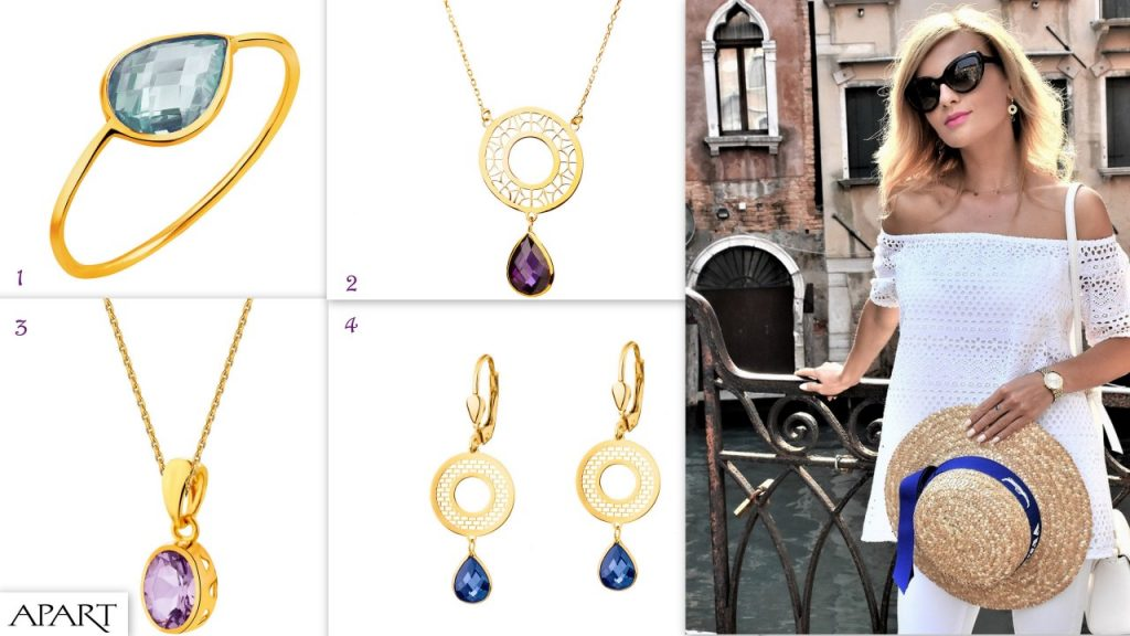 konkurs apart ania zając kolekcja kolory biżuteria