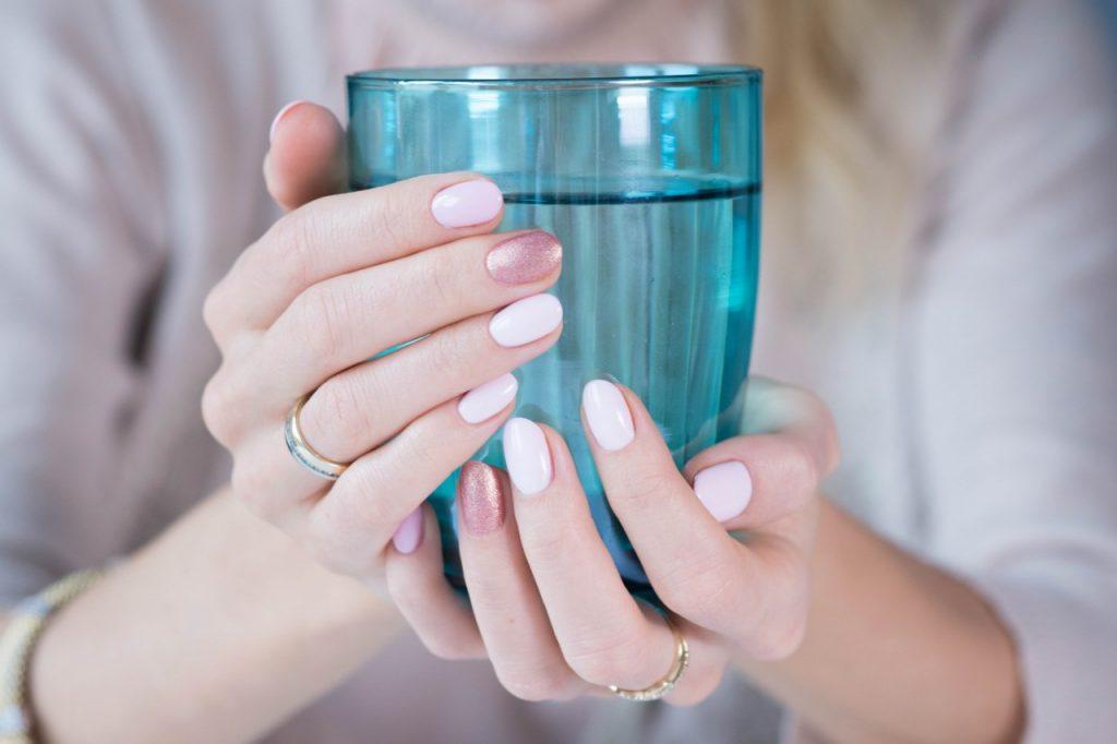 manicure ślubny hybryda 2