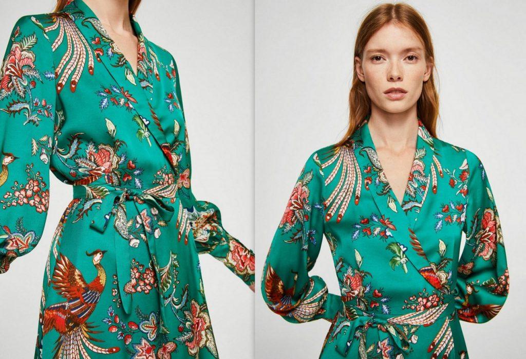 3 sukienka w kwiaty mango