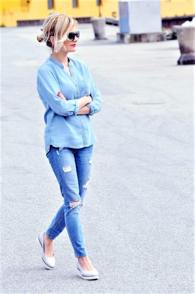 total jeans stylizacja