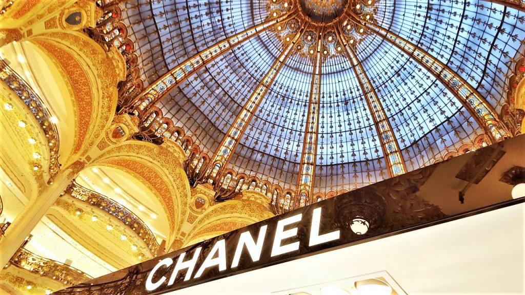 galeria lafayette w paryżu