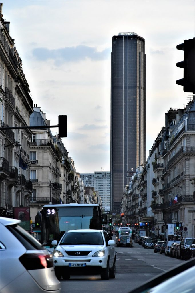 montparnasse punkt widokowy na wieżę eiffla