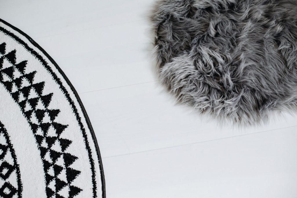okrągły dywan 3