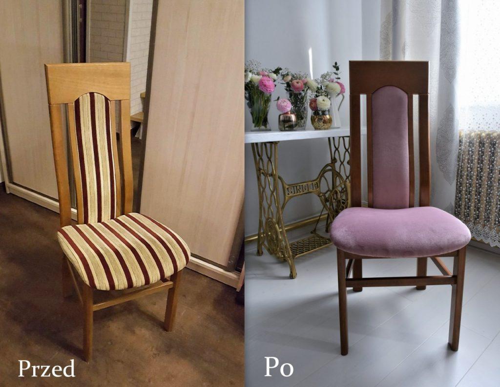 krzesła tapicerowanie