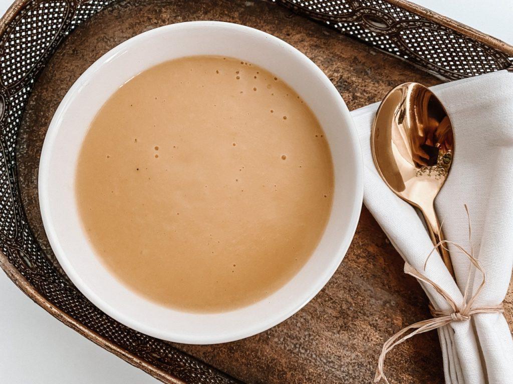 przepis na prostą zupę krem z pora (Niestandardowy)