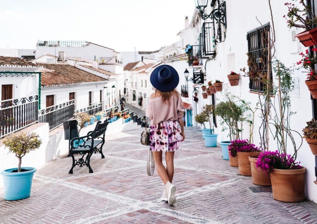 mijas hiszpania Andaluzja Ania Zając fashionable (Niestandardowy)