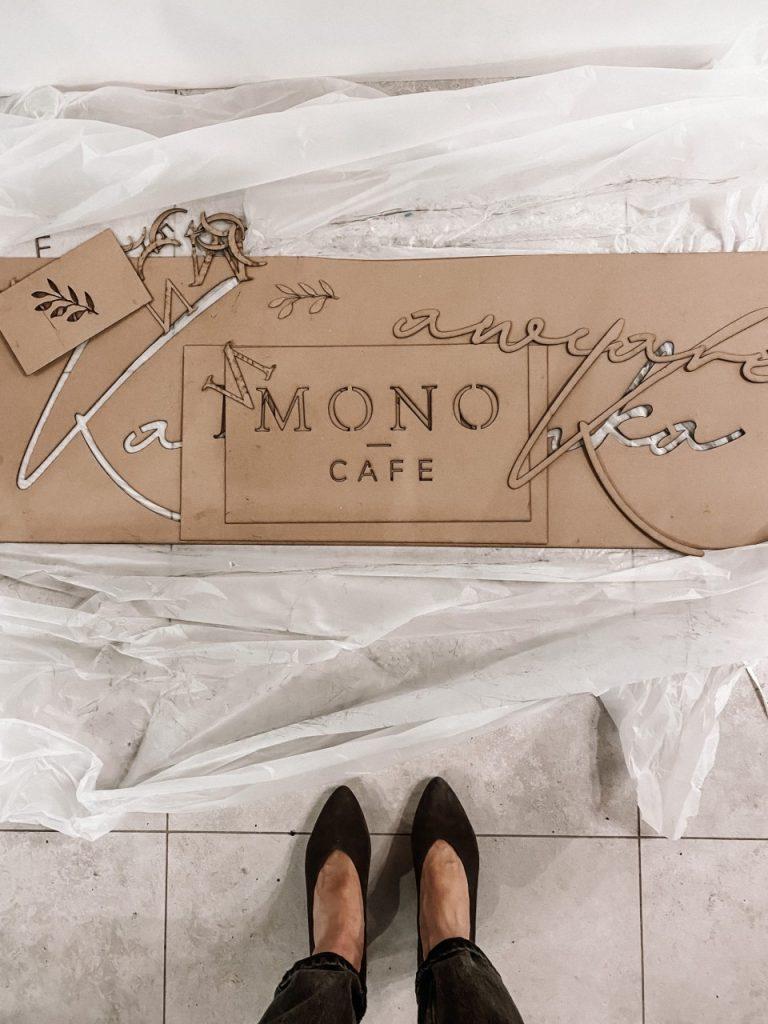 kawiarnia mono cafe 20 (Niestandardowy)
